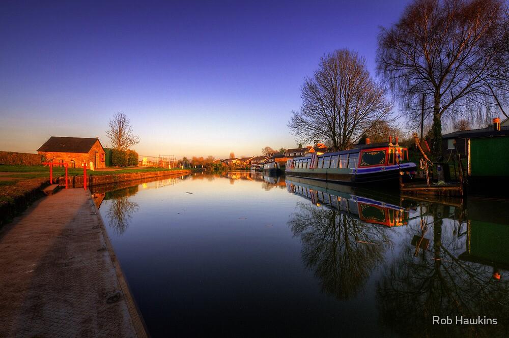 Tiverton Canal Basin  by Rob Hawkins