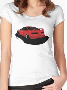 Honda Integra DC2 Type R Women's Fitted Scoop T-Shirt