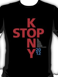 STOP KONY.2 2012 T-Shirt