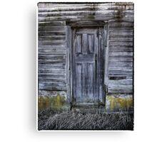 The Back Door Canvas Print