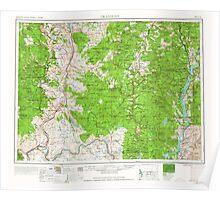 USGS Topo Map Washington State WA Okanogan 239714 1954 250000 Poster