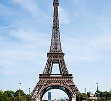 Eiffel Tower, Paris by Hugh O'Brien