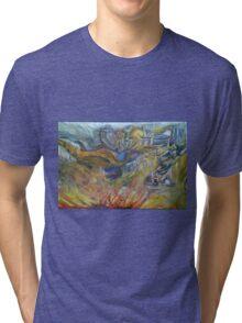 Flaming Tri-blend T-Shirt