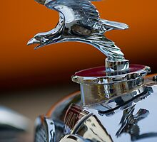 1932 Alvis Speed 20 Hood Ornament by Jill Reger