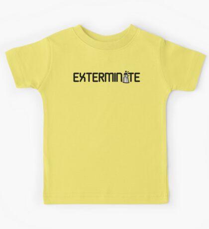 Exterminate Kids Tee