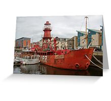 The North Carr Lightship Greeting Card