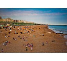Over Brighton Beach Photographic Print