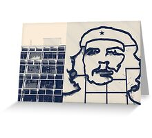 Che Lines Greeting Card