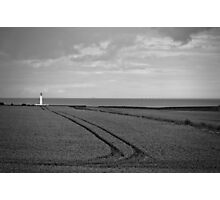 Lighthouse Lines Photographic Print