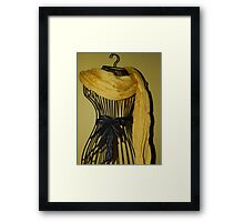 """Dress for """"Sun""""day Framed Print"""