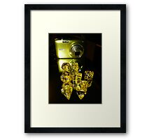 Picture me Yellow Framed Print