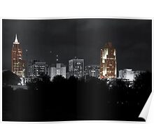 Downtown Raleigh NC Poster