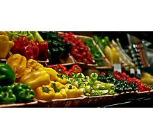 Vegetable Photographic Print