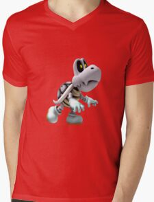Dry Bones Mens V-Neck T-Shirt