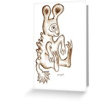 Stuffed toy Greeting Card