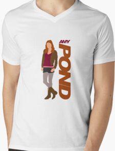 POND. Amy POND Mens V-Neck T-Shirt