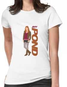 POND. Amy POND Womens Fitted T-Shirt
