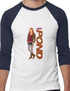 POND. Amy POND Men's Baseball ¾ T-Shirt