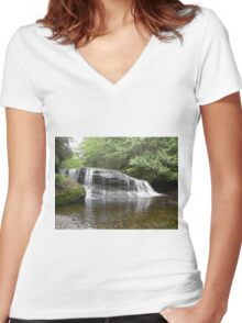 Natural Beauty Women's Fitted V-Neck T-Shirt
