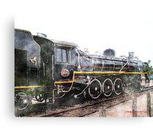 Knysna Train Canvas Print