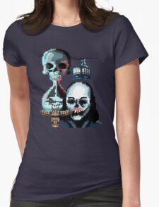 Pixel Until Dawn Womens Fitted T-Shirt
