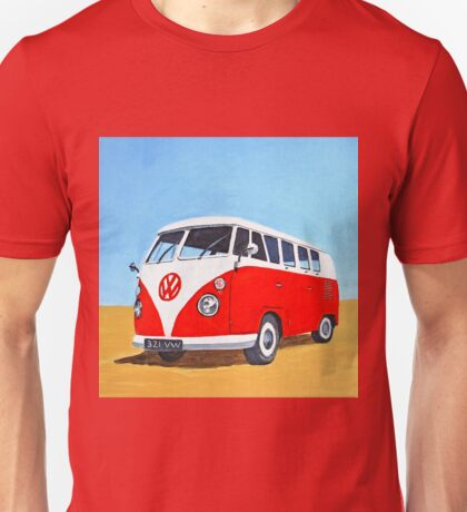 Volkswagen - Let's Go Travelling Unisex T-Shirt