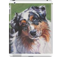 Australian Shepherd Fine Art Painting iPad Case/Skin