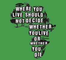 Where You Live - Africa One Piece - Short Sleeve