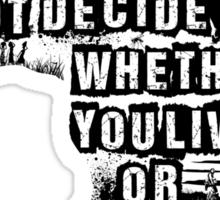 Where You Live - Africa Sticker