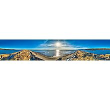 Iona Beach Spit (360+ pano) Photographic Print