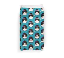 Hockey penguin Duvet Cover