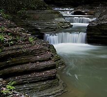 Silky Waterfalls by Jeff Palm Photography