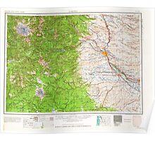 USGS Topo Map Washington State WA Yakima 244825 1958 250000 Poster