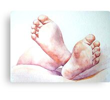 Welcome to the World Canvas Print