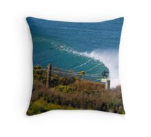 Down The Line at Winki Throw Pillow