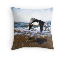 Pacific Gull Throw Pillow
