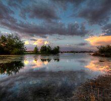 Pastel Mirror by Bob Larson