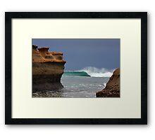 Bird Rock Barrel Framed Print