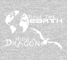 Save the Earth; Ride a Dragon Kids Clothes