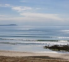 Calm Morning Sea, Cullenstown, County Wexford, Ireland by Andrew Jones