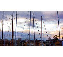 San Francisco Marina Photographic Print