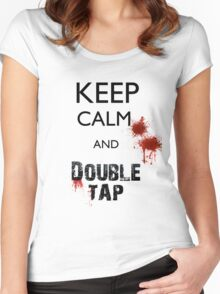 Rule No. 2 - Double Tap Women's Fitted Scoop T-Shirt