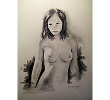 nude portrait Photographic Print
