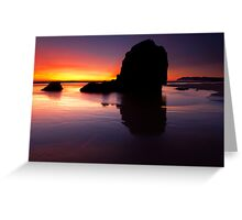 Reflections of the Tides Greeting Card