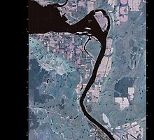 USGS Topo Map Washington State WA Bridgeport 20110404 TM Inverted by wetdryvac