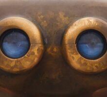 My Blue-Eyed Alien Friend © Sticker