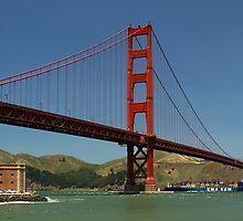 Golden Gate Bridge by Ross Campbell