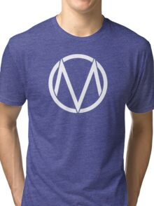 The Maine - Band  Logo White Tri-blend T-Shirt