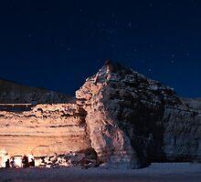 Port Willunga Cliffs by Hugh O'Brien