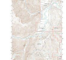 USGS Topo Map Washington State WA Leavenworth 20110601 TM by wetdryvac